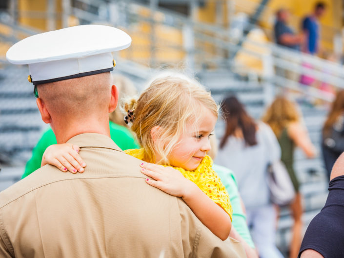 A Marine's Graduation